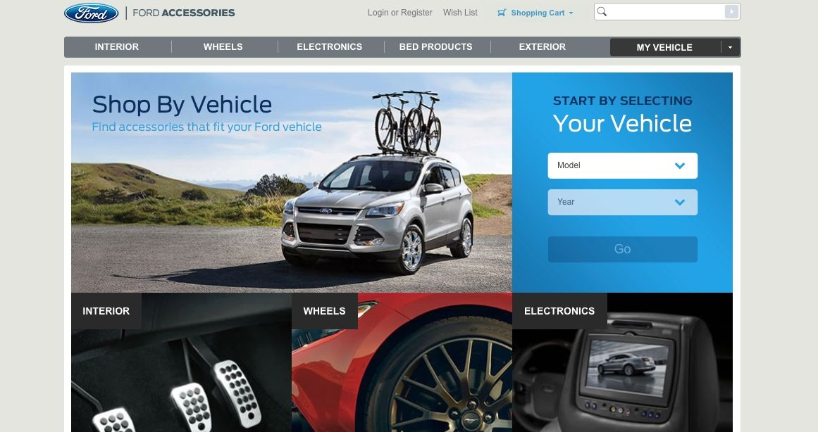 Magazin Online Ford Magento